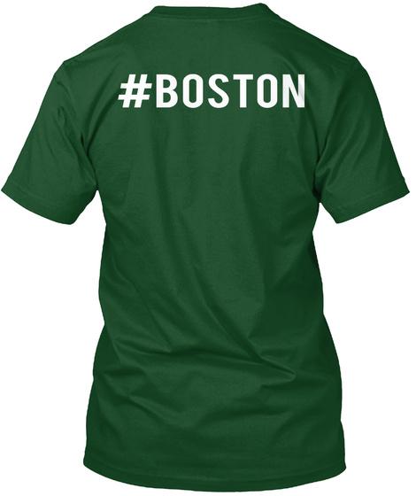 #Boston Deep Forest T-Shirt Back