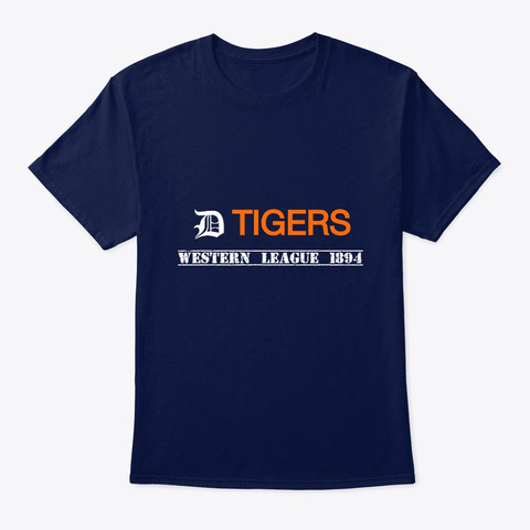 Entr 'western League' Collector's Tee Navy T-Shirt Front