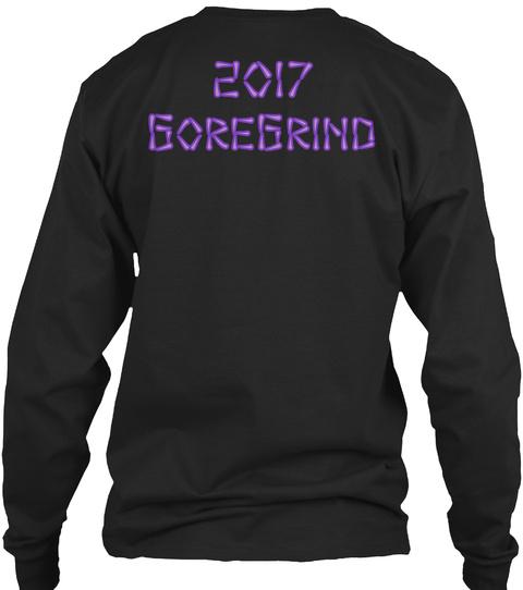 2017 Gore Grind Black Long Sleeve T-Shirt Back