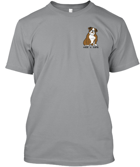 Old English Bulldog 4 Ever Sport Grey Kaos Front