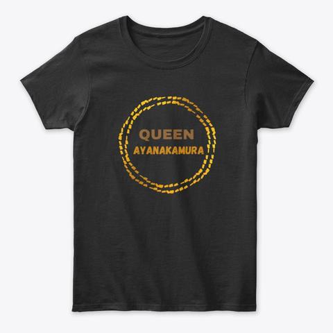 Queen Nakamurance | Amour D'un Fan Black T-Shirt Front