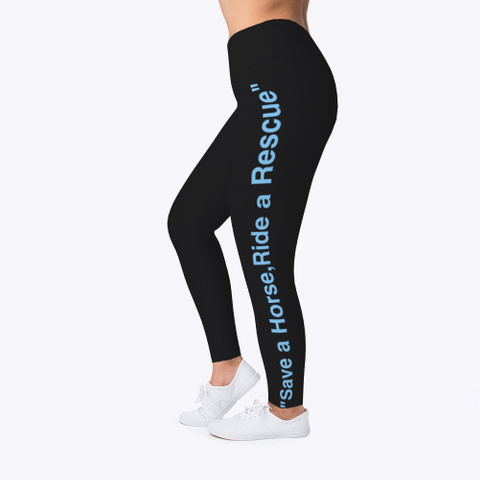 Rescue Leggings Black T-Shirt Left
