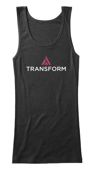 Transform Black Women's Tank Top Front