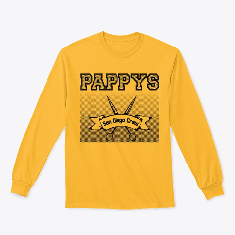 Pappy's Judge Tee Gold T-Shirt Front