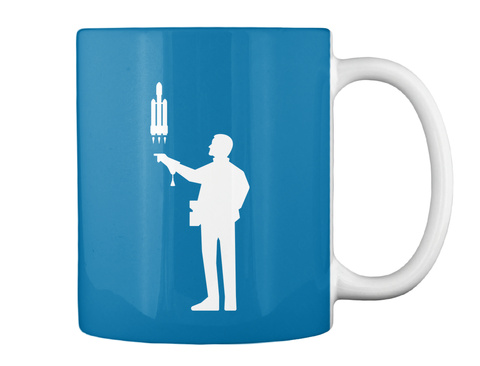 Falconer 4 Man Mug [Int] #Sfsf Royal Blue Mug Back