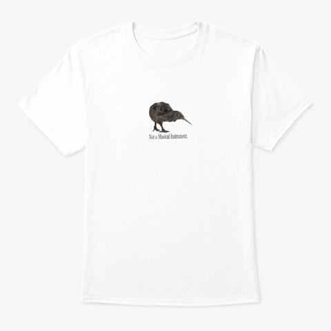 Kiwi Tops White T-Shirt Front