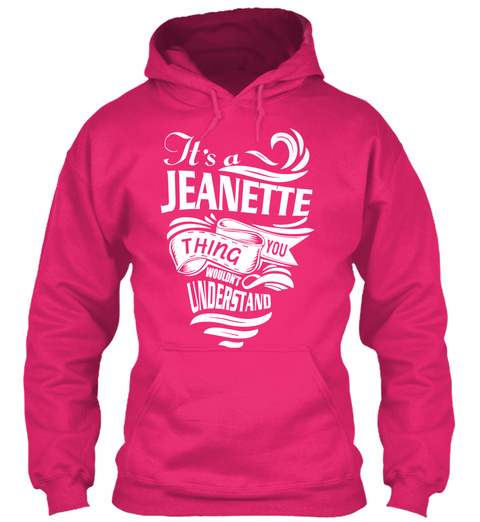 It's A Jeanette Thing Shirt Heliconia T-Shirt Front