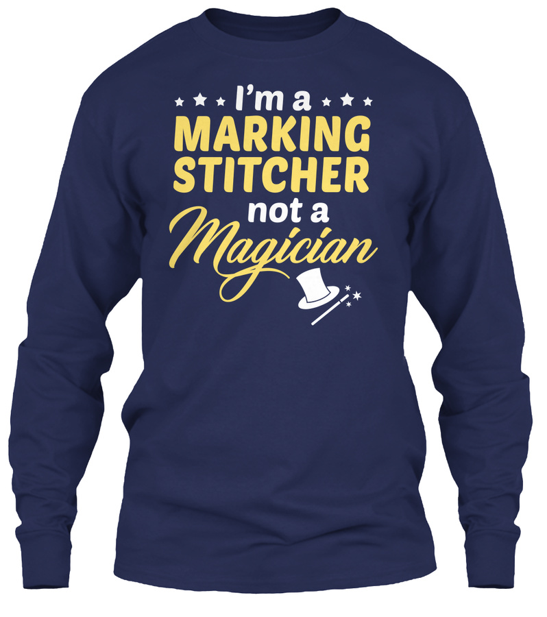 Marking Stitcher - Not Magician Hoodie Tshirt
