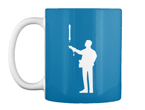 Falconer 3 Man Mug [Int] #Sfsf Royal Blue Mug Front
