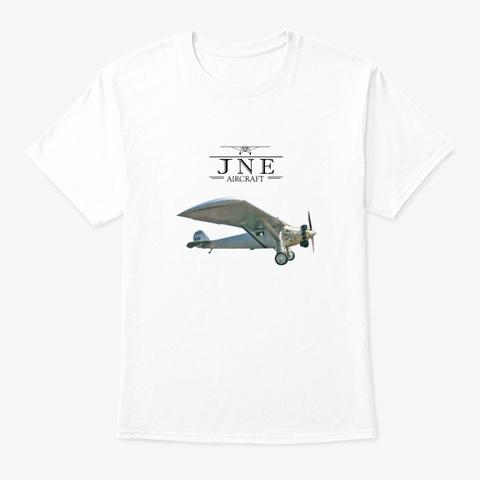 Jne Spirit Photo Tee White T-Shirt Front