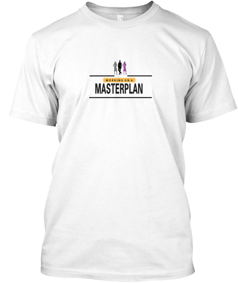 The Masterplan White T-Shirt Front
