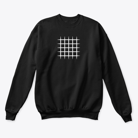 Sweatshirt: Blocks Black T-Shirt Front