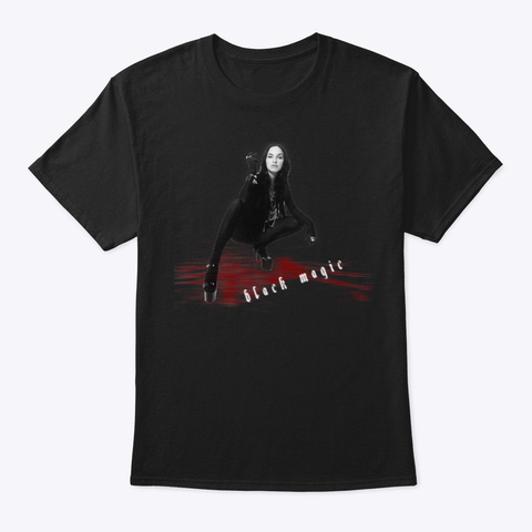 Black Magic Cover Shirt In Black Black T-Shirt Front