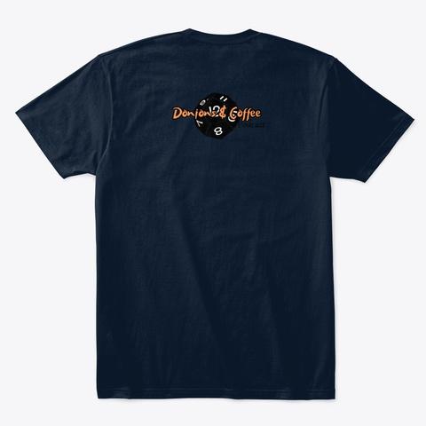 Roll 3 D6 New Navy T-Shirt Back