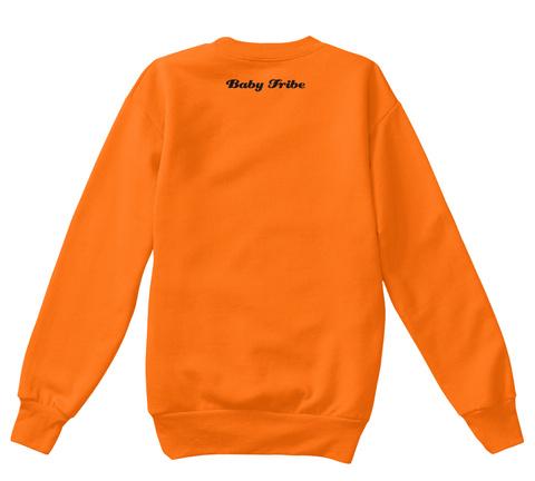 Baby Tribe Orange  T-Shirt Back