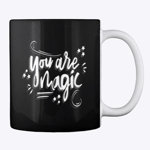 Mug: Magic Black T-Shirt Back