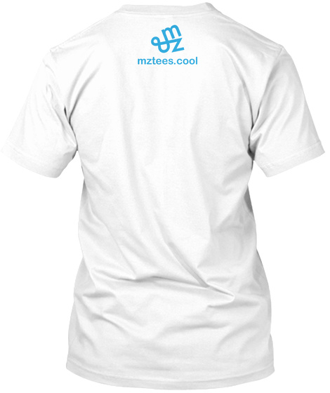 Three Six Eight White T-Shirt Back