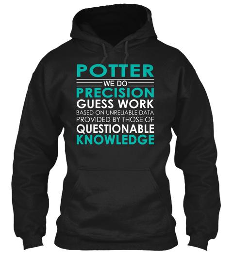 Potter   We Do Black T-Shirt Front
