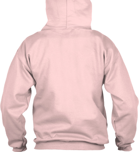 Pinky Starbux Hoodie Light Pink Sweatshirt Back