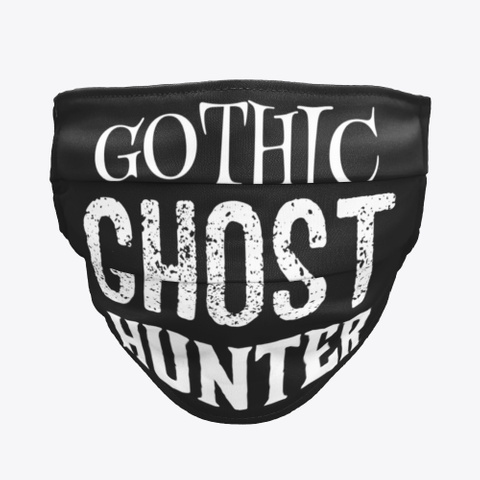 Gothic Ghost Hunter Black Maglietta Front