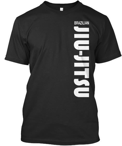 Brazilian Jiu Jitsu Black T-Shirt Front