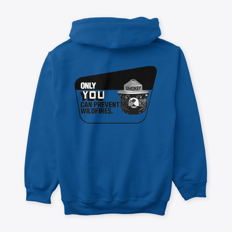 Only You  Royal T-Shirt Back