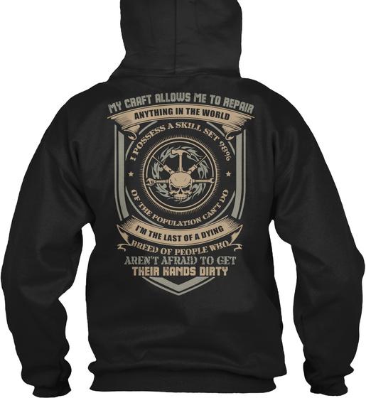 Handyman Hoodie Gift Idea Sweatshirt Back