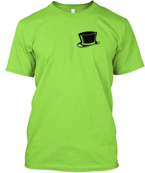Pacman1@Earthlink.Net Lime T-Shirt Front