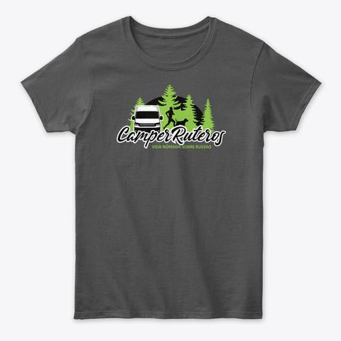 Somos #Camper Ruteros Charcoal T-Shirt Front