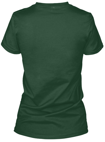 Whapp! 3 Point Shot Duck Tee Forest Green T-Shirt Back