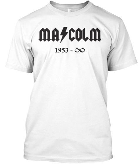 Rock Music King Forever T Shirt White T-Shirt Front
