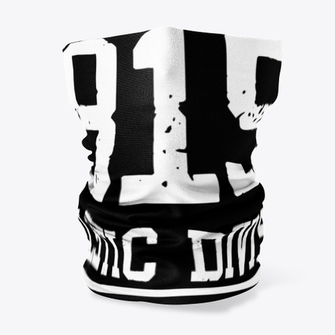 Black Rabbit Athletic Division  Black T-Shirt Front