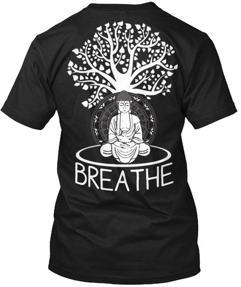 Breathe Black T-Shirt Back