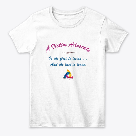 First And Last White Women's T-Shirt Front