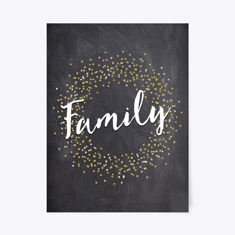 Family Poster Standard T-Shirt Front