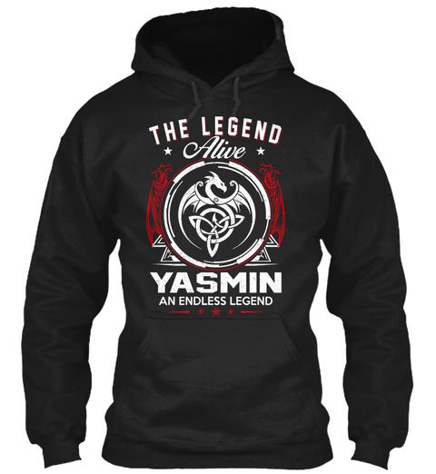 The Legend Alive Yasmin An Endless Legend Black Sweatshirt Front