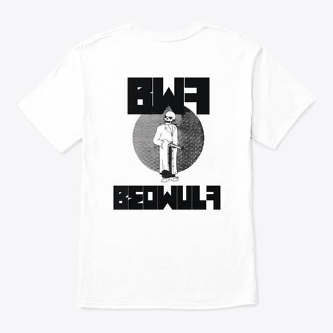 Og Beowulf White T-Shirt Back