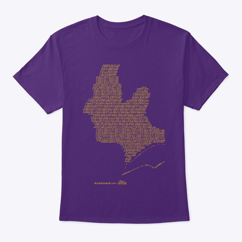 Data. Purple T-Shirt Front