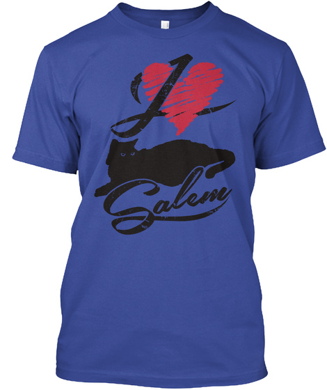 Salem  Deep Royal T-Shirt Front