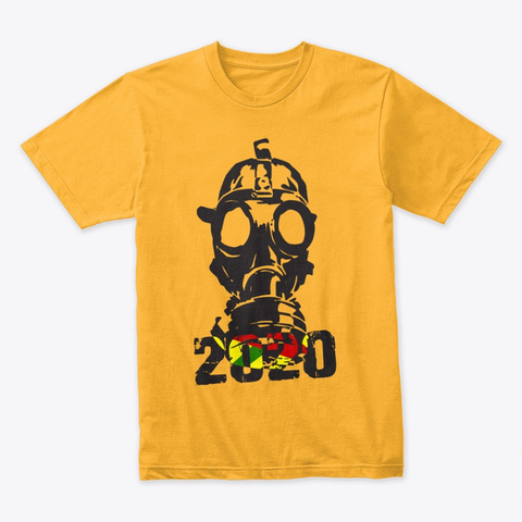 The 2020 Era Gold T-Shirt Front