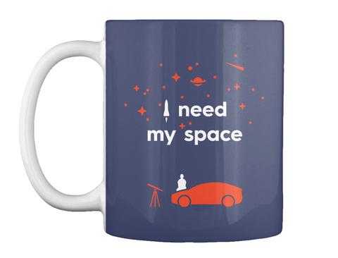 My Space Car Mug [Int] #Sfsf Dark Navy Becher Front