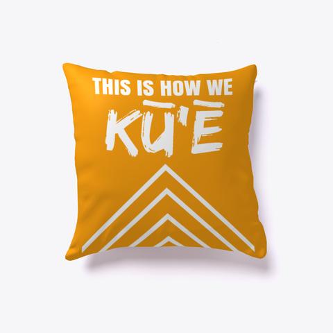Acts Of Resistance: Mea Hale Orange T-Shirt Front