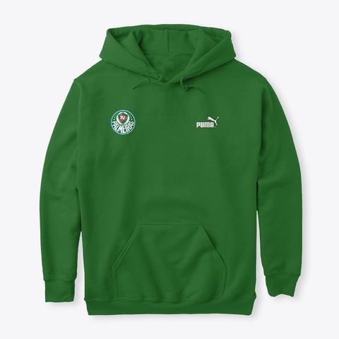 Moletom Tv Palmeiras Play Graphic Verde Irish Green T-Shirt Front