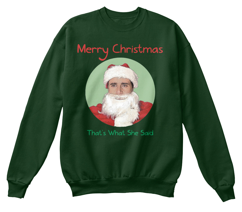 MICHAEL SCOTT CHRISTMAS SWEATER!