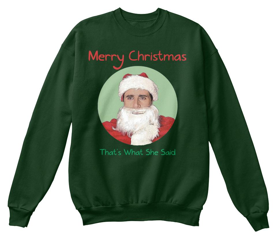 MICHAEL SCOTT CHRISTMAS SWEATER!