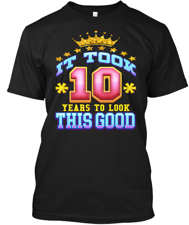 10th Birthday Shirt Age 10 Years Old Unisex Tshirt