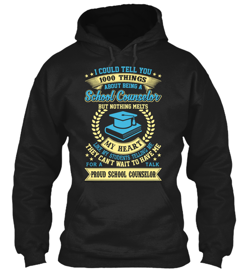 1000 Things About School Counselors Unisex Tshirt