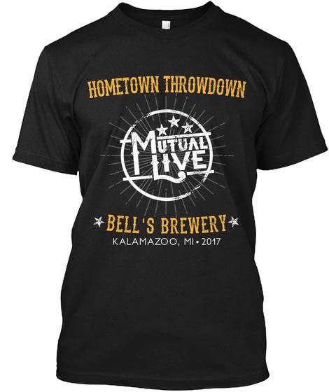 Bells Brewery Sponsor Tee Black T-Shirt Front