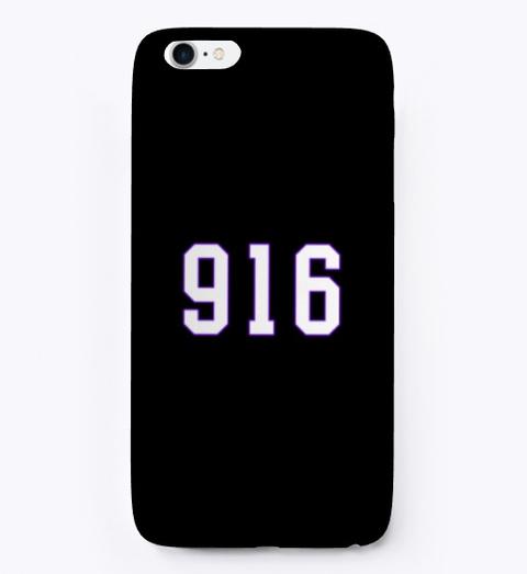 916 I Phone Case Black T-Shirt Front