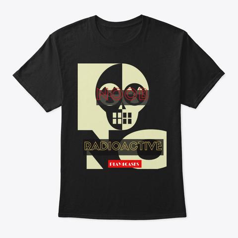 Noob Radioactive Black T-Shirt Front